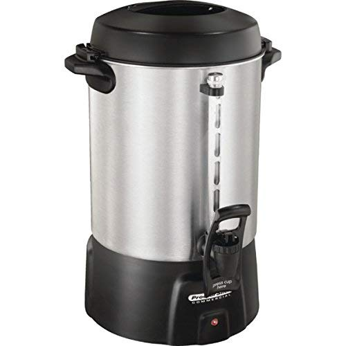 Proctor Silex Commercial 60 Cup Aluminum Coffee Urn - One-Hand Dispensing by SILEX (Image #1)