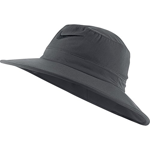 NEW Nike Sun Bucket Hat Dark Gray/Black Fitted S/M Fitted Hat/Cap