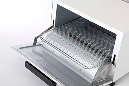 TIGER toaster oven freshly baked white wide KAM-A130W by Tiger (Image #2)