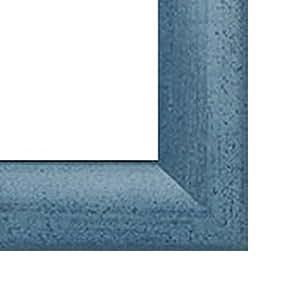Pisa MDF-Photo Frame 65x85 cm 85x65 cm Choice of colour: Light Blue with Non-Glare Acrylic Glass