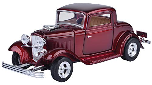 MotorMax American Classics 1932 Ford Coupe 1/24 Scale Diecast Model Car -