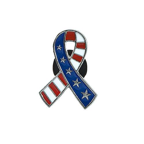 Patriotic Ribbon Pins ()