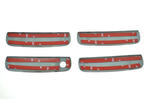Fits 11-19 DODGE CHARGER - Gloss Black Door Handle Covers