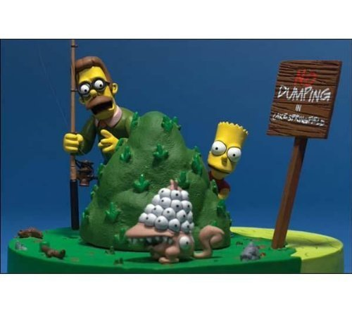 The Simpsons Movie: Bart and Ned Flanders -