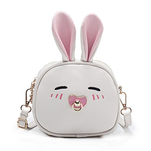 diseño Bandolera Color 3 Rabbit Dabixx niños 69x2 de Rabbit Light Beige 6 Azul para Blue Ear 7x7x16cm 75x6 Claro Bolso Long Perro Cute x0w5q15IH