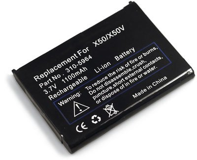 2-Pack of Batteries for Dell Axim X50v X50 X51 X51