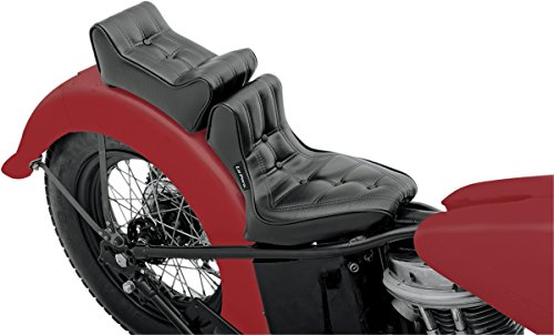 Pad Pillion Le Pera (Le Pera Signature II Vinyl Seat with Pillion Pad for Rigid Frames)