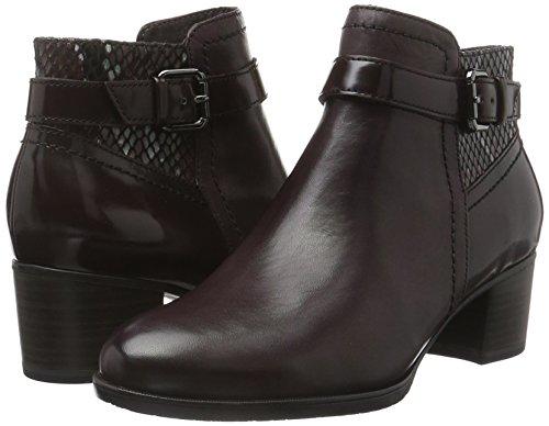 25329 Women''s 550 Comb bordeaux Boots Ankle Tamaris Red Tqx5wfHf7