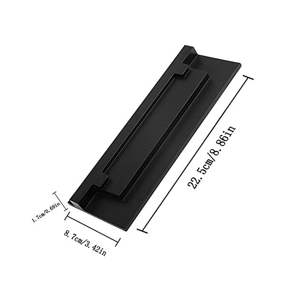 ELM Game Vertical Stand Holder for Xbox One S (Black) 5