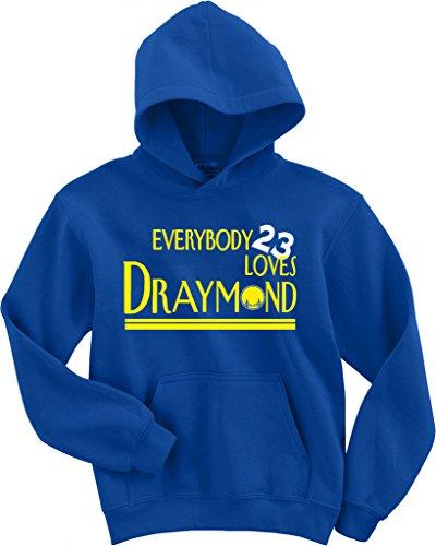 "Draymond Green Golden State Warriors ""Everybody Loves"" Hooded Sweatshirt ADULT LARGE"