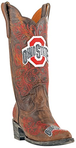 Ncaa Ohio State Buckeyes Womens 13-tommers Gameday Støvler Messing