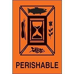 Paper Perishable International Shipping Label - 6\