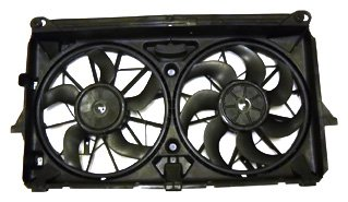 TYC 622220 Chevrolet/GMC Replacement Cooling Fan Assembly (Cadillac Escalade Radiator Replacement)
