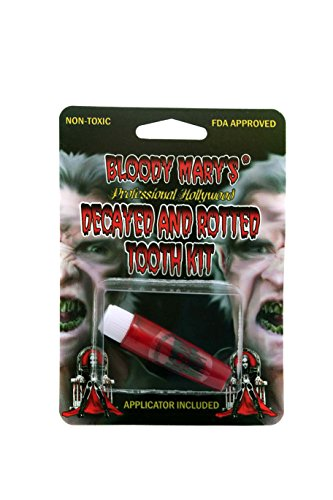 Bloody Mary F/X Monster Blood Tooth Paint, Red (Homemade Halloween Makeup Zombie)