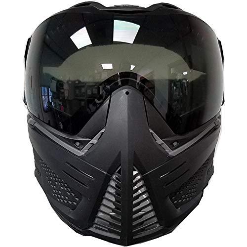 (Push Unite Paintball Mask w/Smoke Lens Black/Grey/Black)