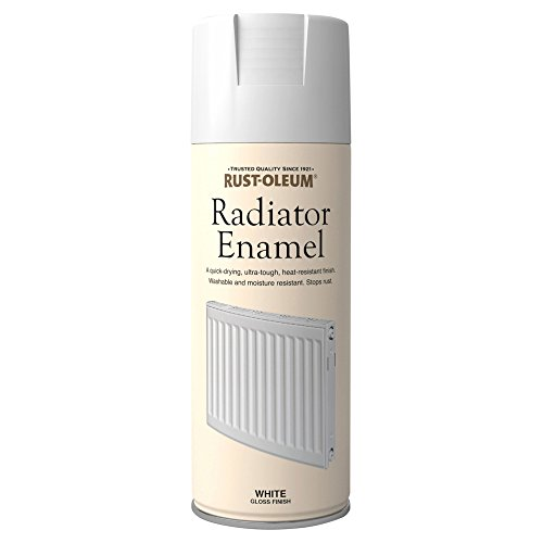 400ml Radiator Enamel Gloss White