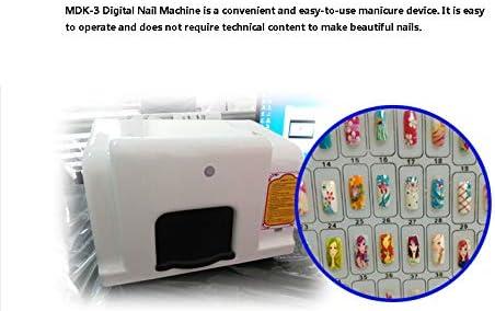 HOODIE Impresora Uñas Artística, Pintura Uñas Impresora 3D ...