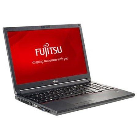 Fujitsu LIFEBOOK E554 VFY:E5540M750ODE 39,6 cm (15,6 Zoll) Notebook (Intel Core i5 4210M, 4GB RAM, 500GB HDD, DVD, Win 10 Pro) schwarz