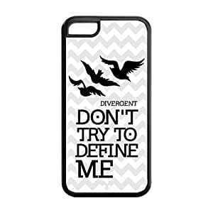 Fashion Divergent Dauntless Personalized iPhone 5C Rubber Gel Silicone Case Cover