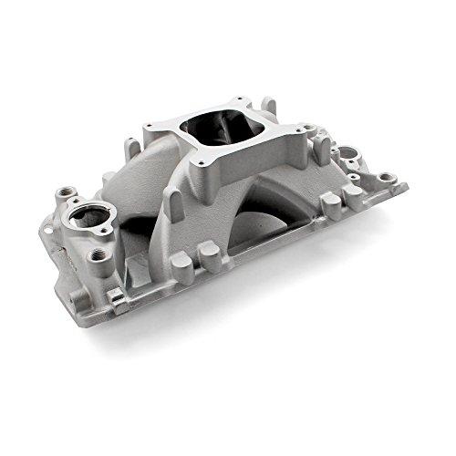 Intake Manifold Bbc (Speedmaster PCE147.1029 Shootout Pro Intake Manifolds, Carbureted)