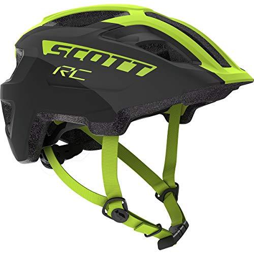 Scott Spunto Junior Plus Helmet - Kids' Black/Yellow Rc, One Size