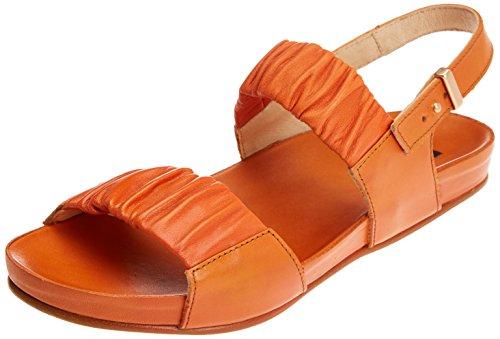 Skin Sandales Ouvert Orange Bout Lairen Restored Carrot S955 Carrot Femme Neosens qzX0EE