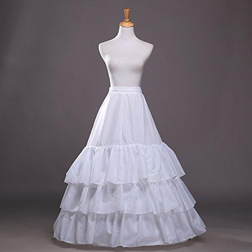 85a6ef91ed3fd De Mariée Mariage Sous Soirée Style 7 Femme Jupe Sirène Cérémonie Jupon  Princesse Vkstar® Long Robe Crinoline PRXvqwnB