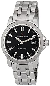 Carl F. Bucherer Patravi AutoDate Automatic Steel Mens Watch Black Dial 00.10617.08.33.21