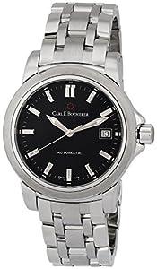 Carl F. Bucherer Patravi AutoDate Automatic Steel Mens Watch Black Dial 00.10617.08.33.21