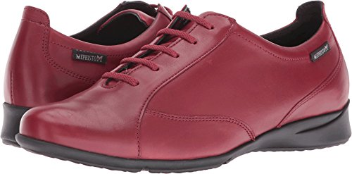 Mephisto Womens Lace - Mephisto Women's Valentina Lace Up,Oxblood Leather,US 7 M