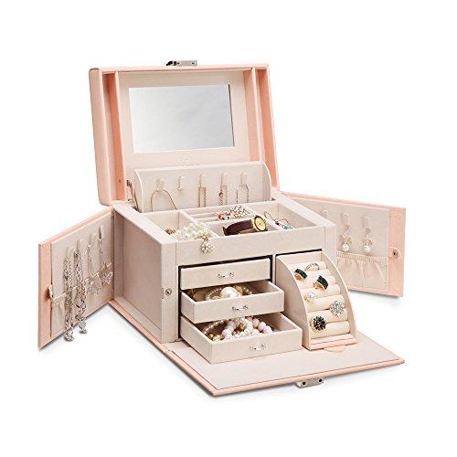 Review Vlando Mirrored Jewelry Box