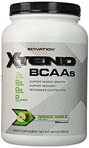 Scivation XTEND, Green Apple Flavor 90 Servings(42.1 oz)