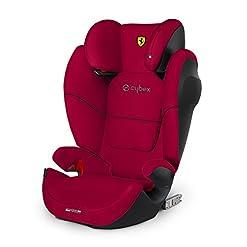 CYBEX Silver Siège Auto Solution M-Fix SL Scuderia Ferrari, Adapté aux Voitures Avec ou Sans Isofix, Groupes 2/3 (15-36… 3