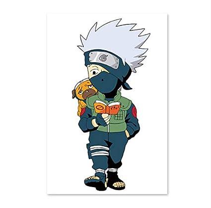 Kmxm Naruto Kakashi Petit Garcon Livre De Lecture Chiot
