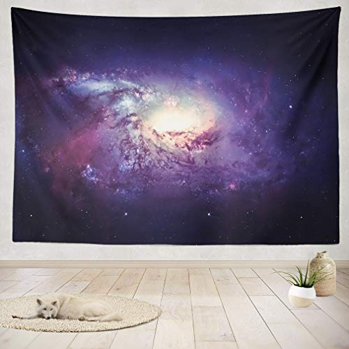 ASOCO Tapestry Wall Handing Planet Solar System and Space Wall Tapestry for Bedroom Living Room Tablecloth Dorm 60X60 Inches by ASOCO