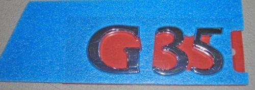 (Infiniti Nissan Genuine Factory Original OEM G35 SEDAN 4DR G35 REAR NAMEPLATE EMBLEM V36)