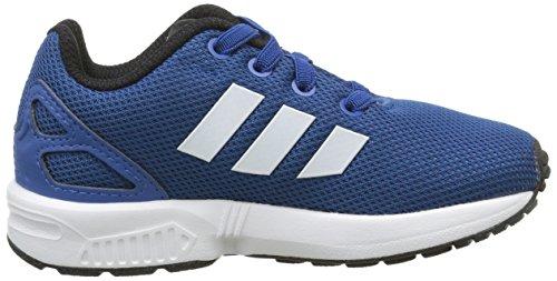 adidas ZX Flux el I, Zapatillas Unisex Bebé Eqtblu/Ftwwht/Cblack
