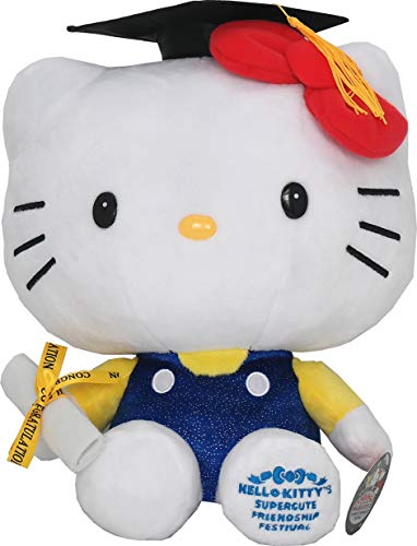 Graduation 13 inches Hello Kitty Plush Doll Stuffed Toy