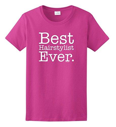 Best Hairstylist Ever Ladies T Shirt