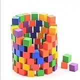 100pcs Colorful Wooden Blocks Stacking Game Developmental Baby Children Toy