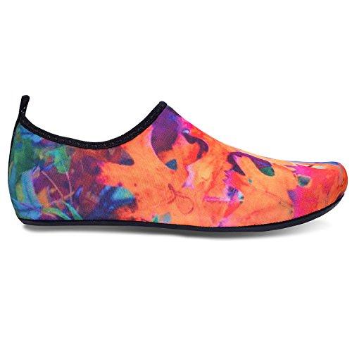 RUN Schuhe Schuhe L Barfuß Wasser für Koralle Dive Run Yoga Surf Beach Haut Unisex Schwimmen qYdUnraxd