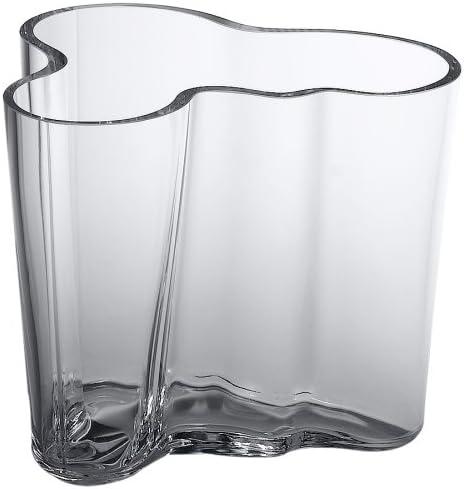 Iittala Aalto 3-3 4-Inch Clear Glass Vase