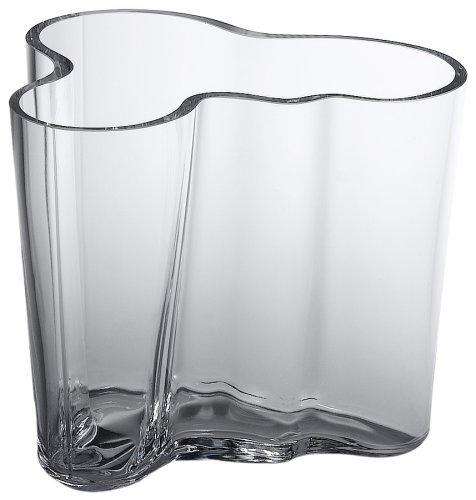 Aalto Clear Vase (Iittala Aalto 3-3/4-Inch Clear Glass Vase)