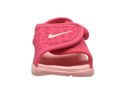 NIKE Sunray Adjust 4 (TD) Baby-Boys Slippers 386521-608_6C - Tropical Pink/Bleached Coral - Image 4