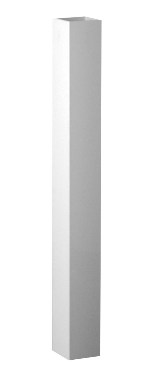 Fypon 40050509PS Post Sleeve with 4 5/8'' Inside Width, 5'' x 5'' x 108'', White