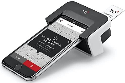 YO Home Sperm Test for Apple iPhones| Includes 2 Tests | Men's Motile Sperm Fertility Test | Check Moving Sperm and Record Video | Apple iPhone 6, 6S