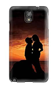 First-class Case Cover For Galaxy Note 3 Dual Protection Cover Great Kiss