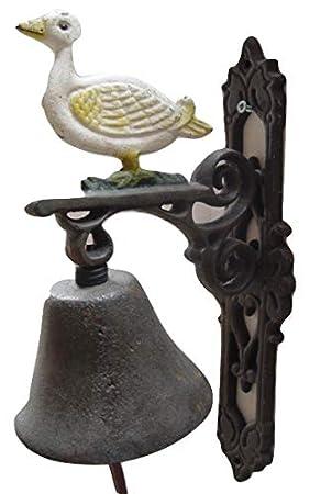 Campana para puerta campana pared Campana Hierro Fundido Juego de 2 País Diseño de Casa: