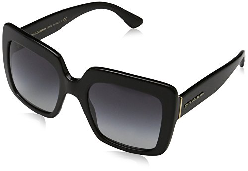 Dolce & Gabbana Unisex 0DG4310 Black/Grey Gradient Sunglasses by Dolce & Gabbana