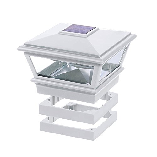 Deckorators Traditional Solar Versacap 6 x 6 – White (Deckorators 158388) Review